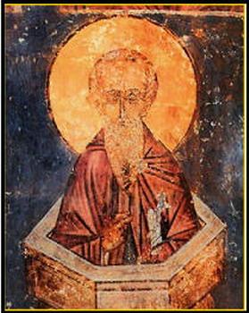 Sveti prepodobni Alimpije Stolpnik