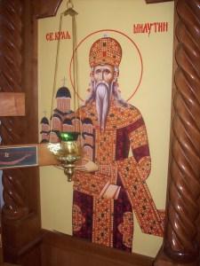 Sveti kralj Milutin u Badovincima 55