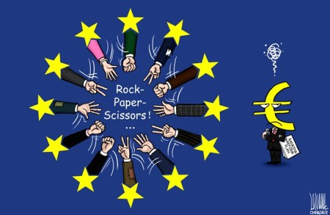 Luojie - China Daily, China - Endless - English - Rock-paper-scissors,EU,Banking,reform,plan,endless
