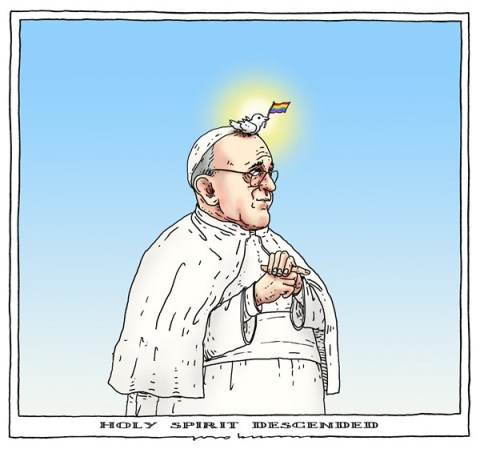 Joep Bertrams - The Netherlands - holy spirit - English - pope, gay, spirit