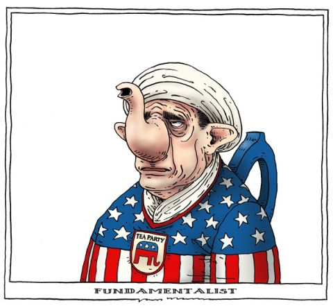Joep Bertrams - The Netherlands - fundamentalist - English - shutdown, tea party, obama, republicans