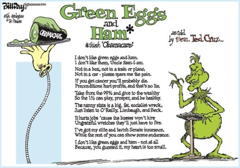 138102 600 GREEN EGGS and HAM cartoons