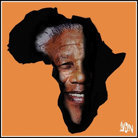Aislin - The Montreal Gazette - Nelson Mandela - English - Nelson Mandela, death