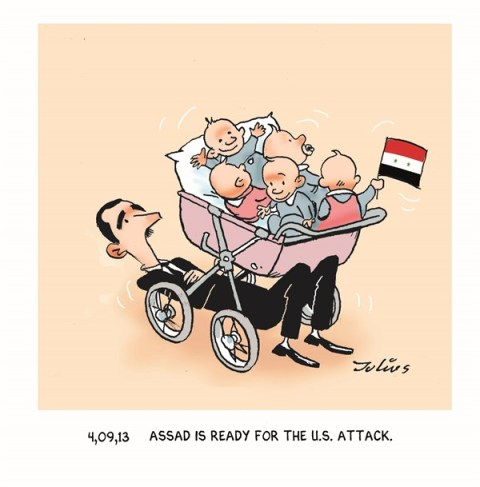 136997 600 Assad is Ready cartoons