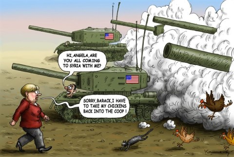 136622 600 Merkel and Obama to Syria cartoons
