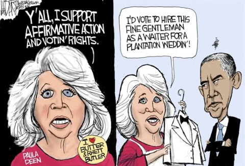 Jeff Darcy - The Cleveland Plain Dealer - Paula Deen affirmative action - English - Paula Deen, Affirmative action