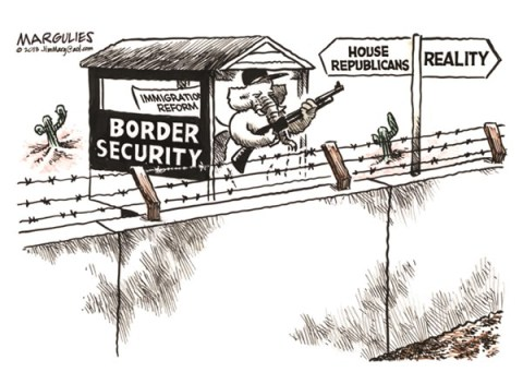 Jimmy Margulies - The Record of Hackensack, NJ - Immigration Reform color - English - Immigration Reform, House Republicans, border security, path to citizenship, Illegal immigrations, Illegal aliens, Hispanic vote