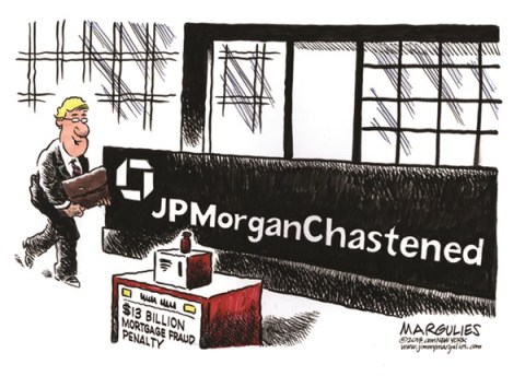 Jimmy Margulies - The Record of Hackensack, NJ - JPMorganChase settlement color - English - JPMorganChase, Wall Street, Mortgage crisis, Financial crisis, JPMorganChase settlement