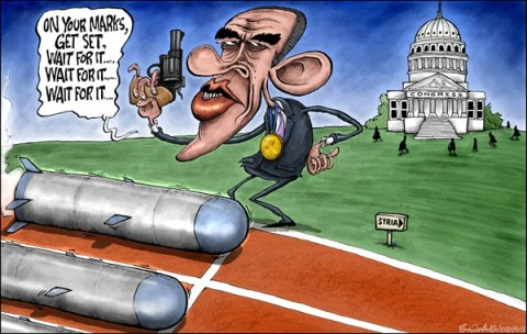Brian Adcock - The Scotland - Wait For It - English - obama, barack obama, syria, congress, missiles, on your marks, congress vote, arab spring, cruise missile, chemical weapons,