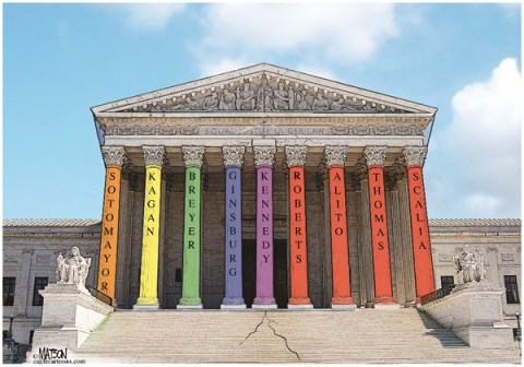 RJ Matson -  - Supreme Pride - English - Supreme Pride, Supreme Court, DOMA, Gay Marriage, Gay Pride, Defense of Marriage Act, Equal Justice Under the Law