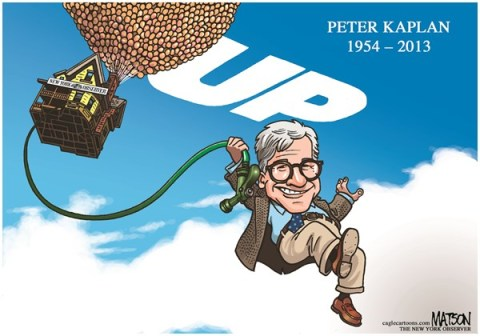 RJ Matson - The New York Observer - Remembering Acclaimed New York Observer Editor Peter Kaplan-COLOR - English - Remembering Acclaimed New York Observer Editor Peter Kaplan, Peter Kaplan, New York Observer, Obit, Obituary