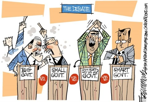 David Fitzsimmons - The Arizona Star - the debate - English - government