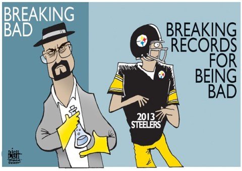 Randy Bish - Pittsburgh Tribune-Review - LOCAL, PITTSBURGH STEELERS, COLOR - English - PITTSBURGH, STEELERS, FOOTBALL, BREAKING BAD