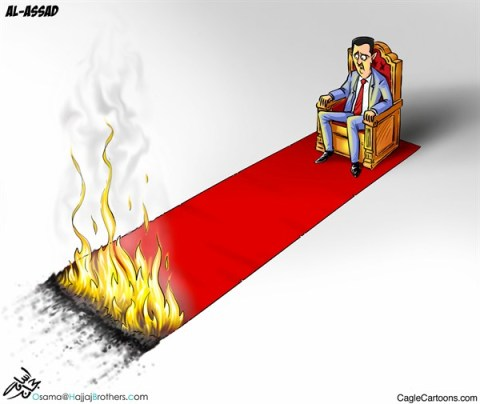 Osama Hajjaj - Abu Mahjoob Creative Productions - Assad Fire - English - assad,fire