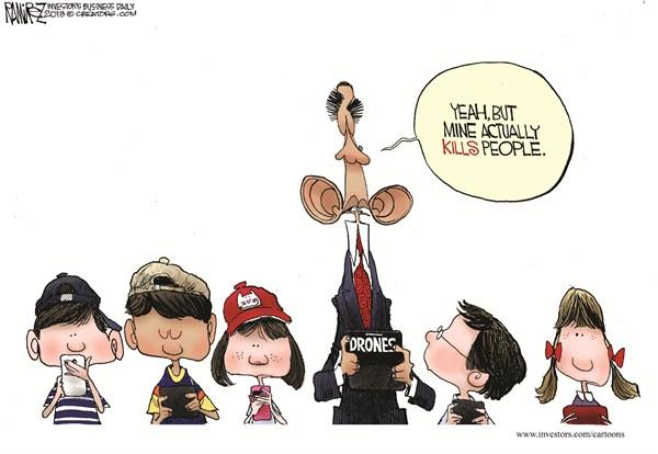 127175 600 Obamas Drones cartoons