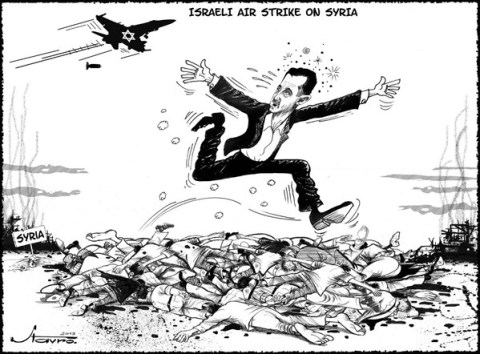 126458 600 Air Strike on Syria cartoons