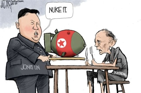 Jeff Darcy - The Cleveland Plain Dealer - North Korean nukes - English - North Korea nukes,Kim Jong-un