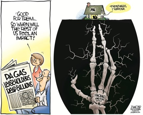 John Cole - The Scranton Times-Tribune - LOCAL PA -- Gas drilling and environment - English - pennsylvaina, natural gas, drilling, fracking, hydrofracking, hydrofracturing, marcellus shale