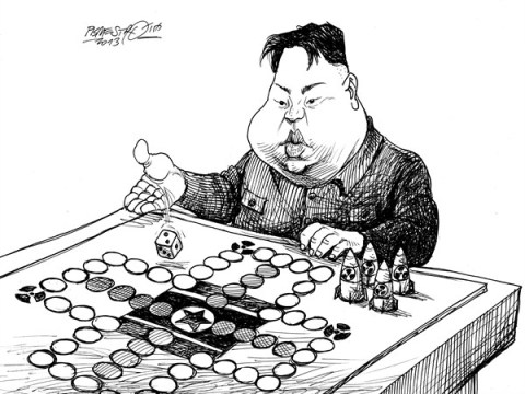 Petar Pismestrovic - Kleine Zeitung, Austria - Games - English - Kim Jong Un, North Korea, Weapon, Nuclear,USA, China, World