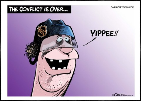 Olle Johansson - Sweden - The conflict is over - English - NHL,Hockey,conflict,over,player,Happy,Canada,USA,sports,media,money, hockey lockout,nhl lockout