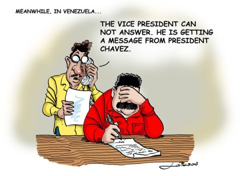 Lailson - Humor World - Receiving Hugo Chavez message - English - hugo chavez,maduro,venezuela,seance,spirit,medium,latin america