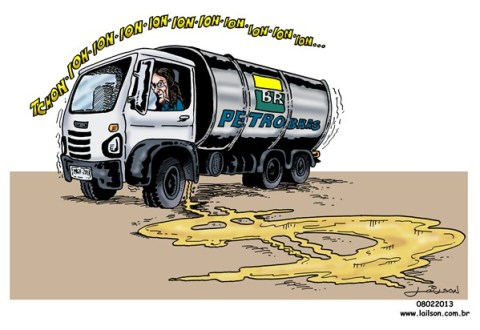 Lailson - Humor World - Brazilian Oil Company Crisis - English - brazil, petrobras, graça foster, oil,