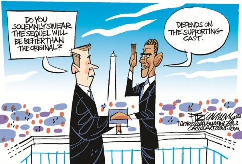 David Fitzsimmons - The Arizona Star - inauguration COLOR - English - obama,inauguration