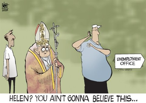 Randy Bish - Pittsburgh Tribune-Review - POPE RESIGNS, COLOR - English - POPE,BENEDICT,POPE BENEDICT XVI,RESIGN,CATHOLIC,CHURCH, Pope Benedict resigns,Pope Benedict XVI