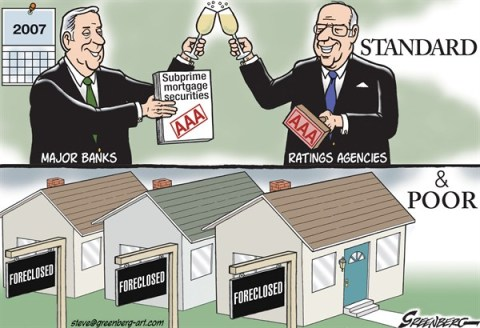 Steve Greenberg - VCReporter, Ventura. CA - Standard  Poor - English - Standard  Poors,rating,ratings,credit,reports,agency,bonds,mortgages,securities,foreclosures,recession,meltdown