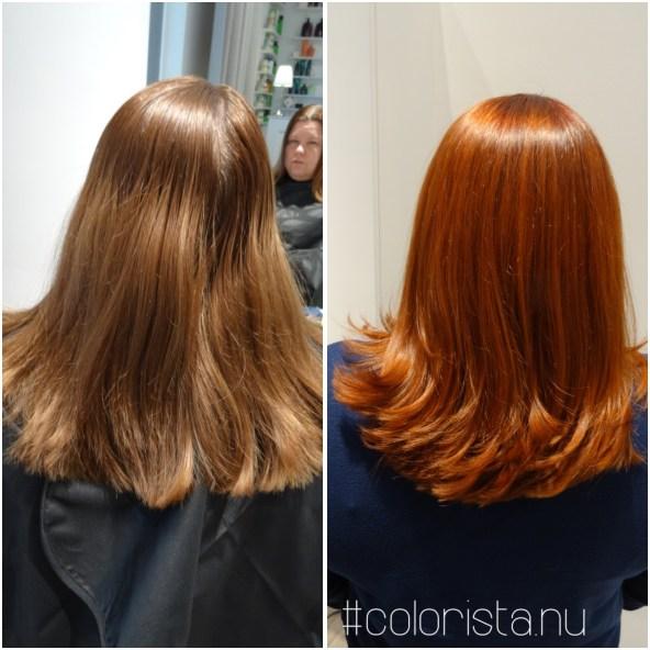 En härlig hårresa med både ny hårfärg och frisyr...