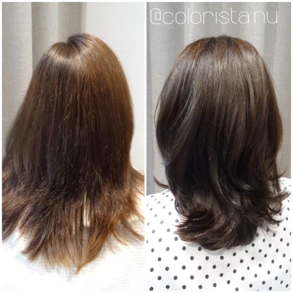 Även brunetter får solblekt hår
