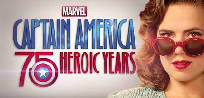 Poster do filme Marvels Captain America: 75 Heroic Years