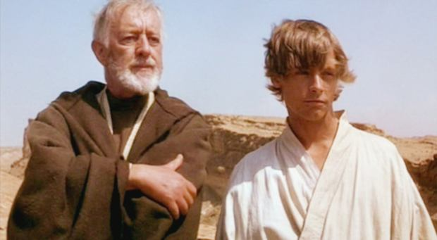 Image result for Alec Guinness Detailed How Much He Hated 'Star Wars' in 1976 Letter
