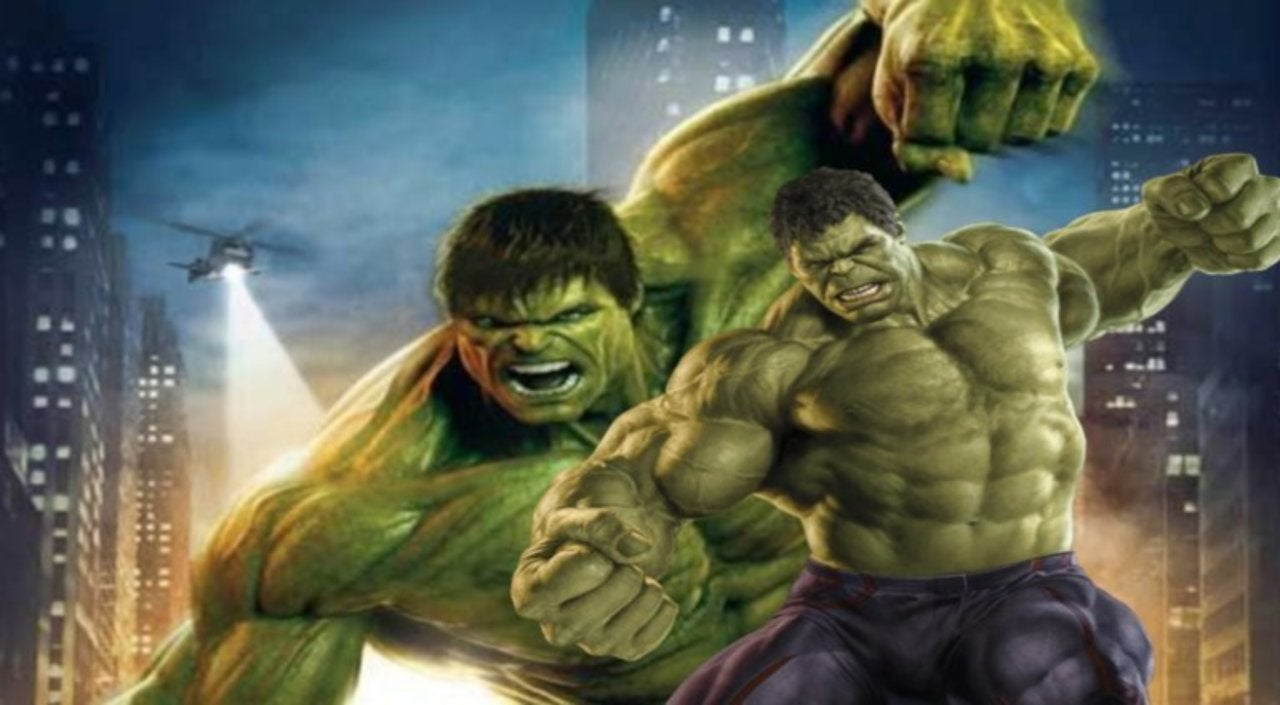 Fan Poster Imagines Mark Ruffalo in First  Incredible Hulk  Movie