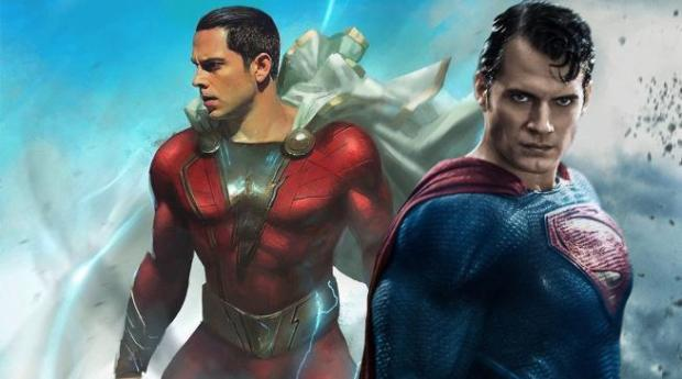Image result for Henry Cavill's Superman Rumored to Appear in Shazam! Movie