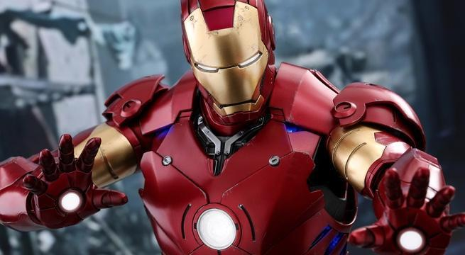 Iron Man Mark III 1 4th Scale Figure Unveiled by Hot Toys to     hot toys iron man top