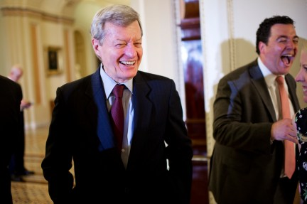 baucus008 061714 Democratic Retirements Put the Senate in Play