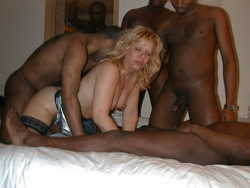 interracial wife sex at party