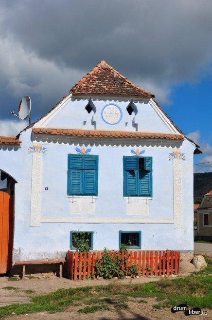 Cum arată o casă din Viscri