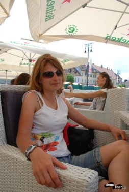 Adela Dadu, ghid la Sibiu