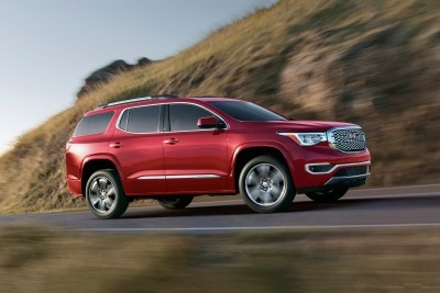 2017 GMC Acadia SLE 1 SUV Review   Ratings   Edmunds 2017 GMC Acadia Denali 4dr SUV Exterior