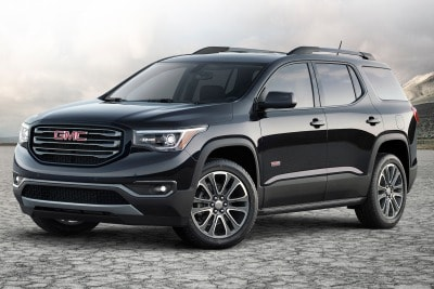 2017 GMC Acadia SLE 1 SUV Review   Ratings   Edmunds 2017 GMC Acadia SUV