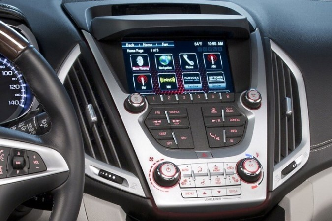 2017 GMC Terrain Review   Ratings   Edmunds We like that this 7 inch touchscreen comes standard on every 2017 Terrain   but its ergonomics and responsiveness leave something to be desired