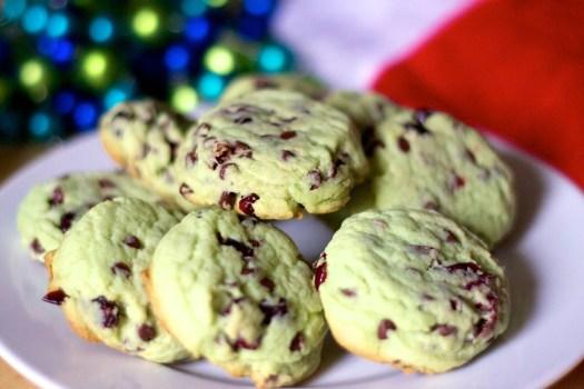 Pistachio-Cranberry Christmas Cookies — Erin Cooks