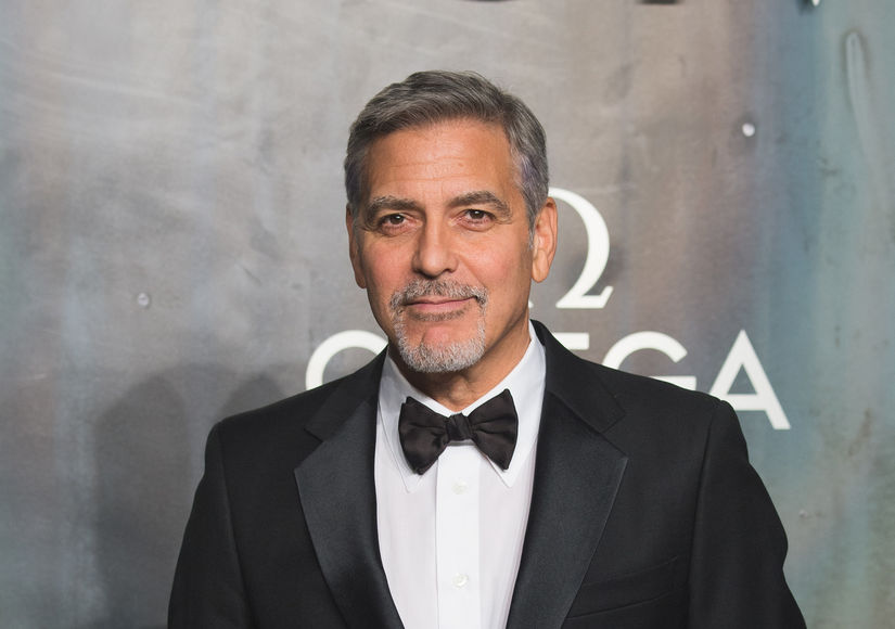 George Clooney Hospitalized   ExtraTV com George Clooney Hospitalized