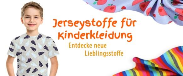 Jerseystoffe für Kinder bei stoffe.de