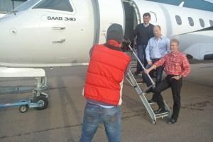 Besättningen på Saab 340