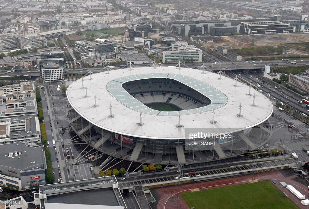Stade De France Pictures and Photos   Getty Images An aerial view taken on October 15 2008 shows the Stade de France in  SaintDenis near