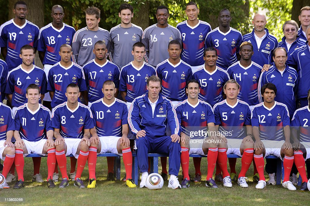 French national football team poses for Pictures   Getty Images French national football team poses for