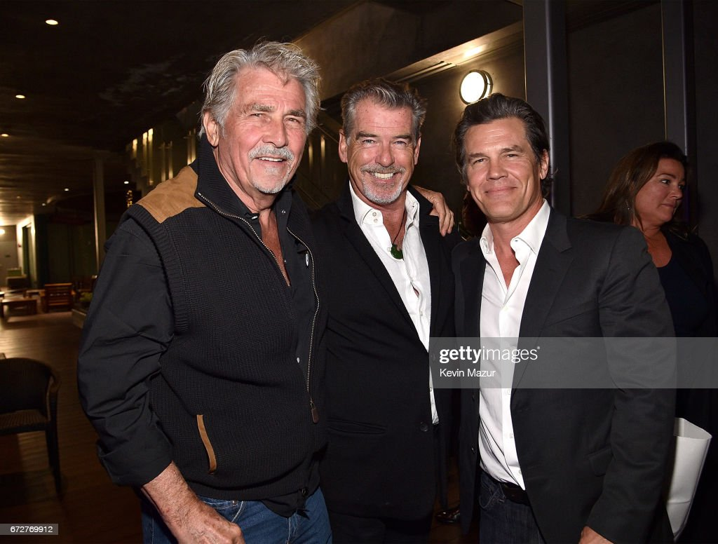 James Brolin Pictures and Photos   Getty Images James Brolin Pierce Brosnan and Josh Brolin attend Barbra Streisand s 75th  birthday at Cafe Habana on